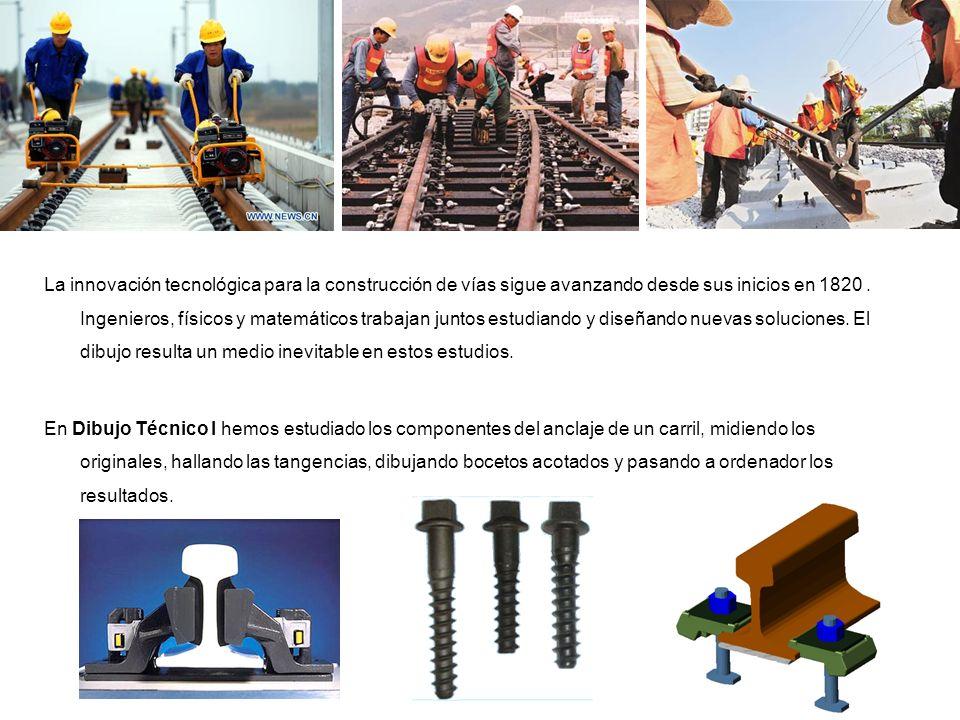 La innovación tecnológica para la construcción de vías sigue avanzando desde sus inicios en 1820. Ingenieros, físicos y matemáticos trabajan juntos es