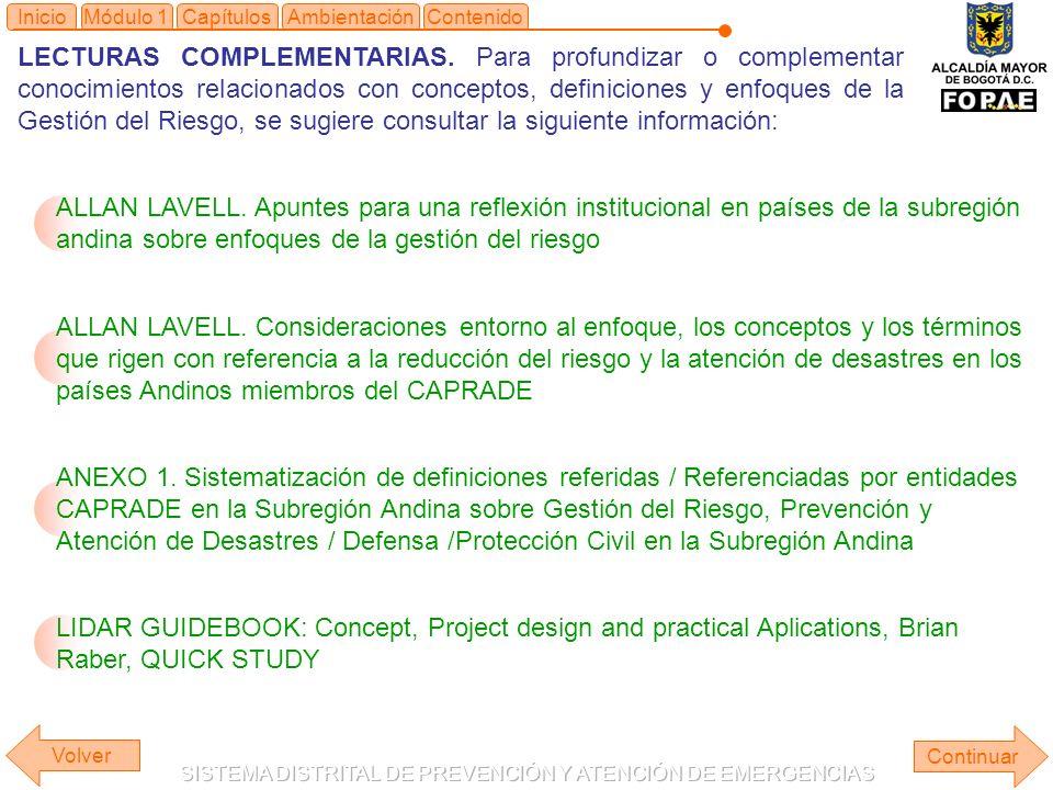 Módulo 1Capítulos LECTURAS COMPLEMENTARIAS.