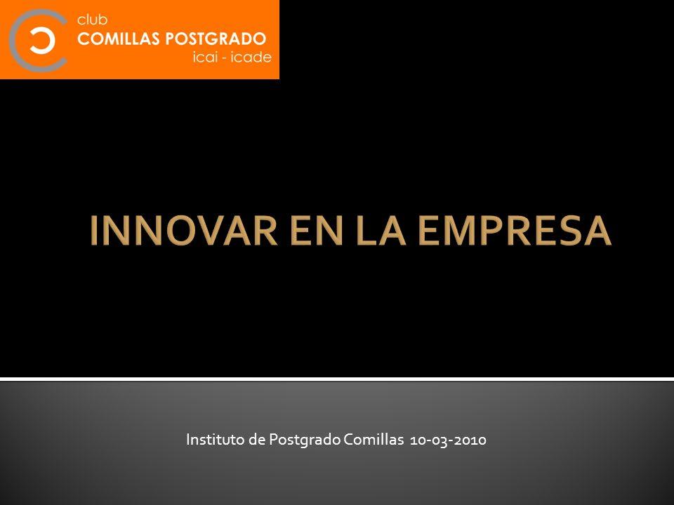 Instituto de Postgrado Comillas 10-03-2010