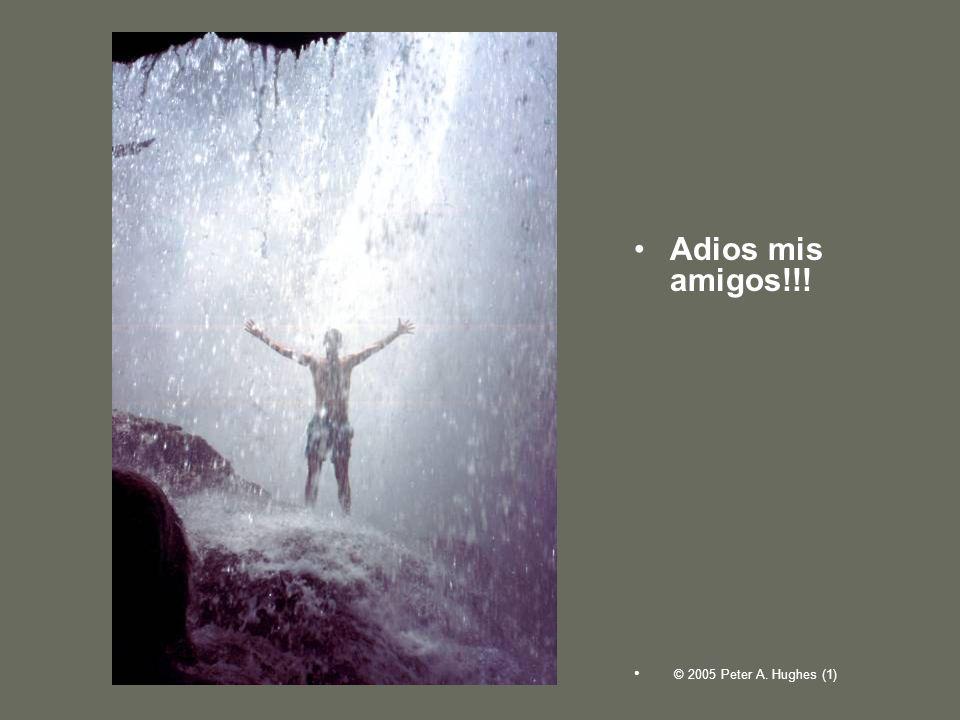 Adios mis amigos!!! © 2005 Peter A. Hughes (1)