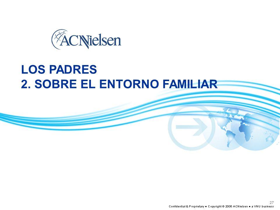 27 LOS PADRES 2. SOBRE EL ENTORNO FAMILIAR