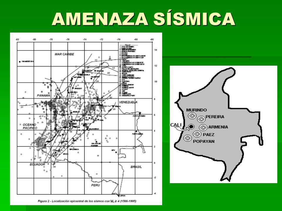 AMENAZA SÍSMICA