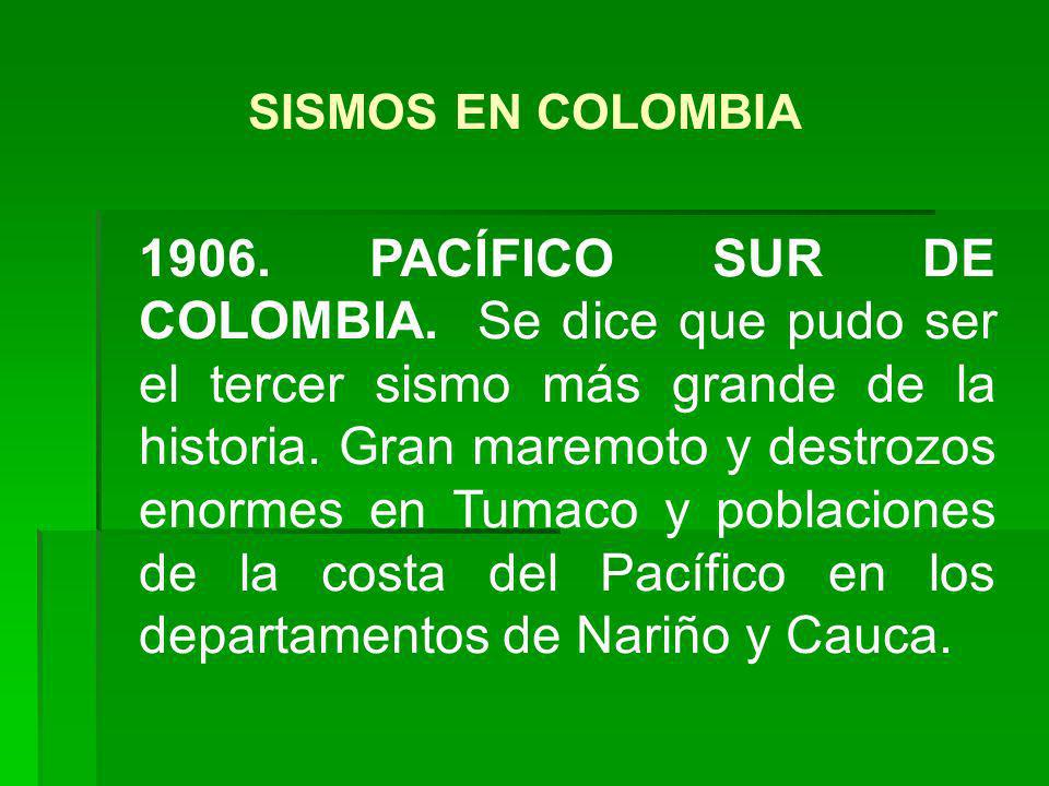 1992.MURINDÓ. Magnitud de 7.2.