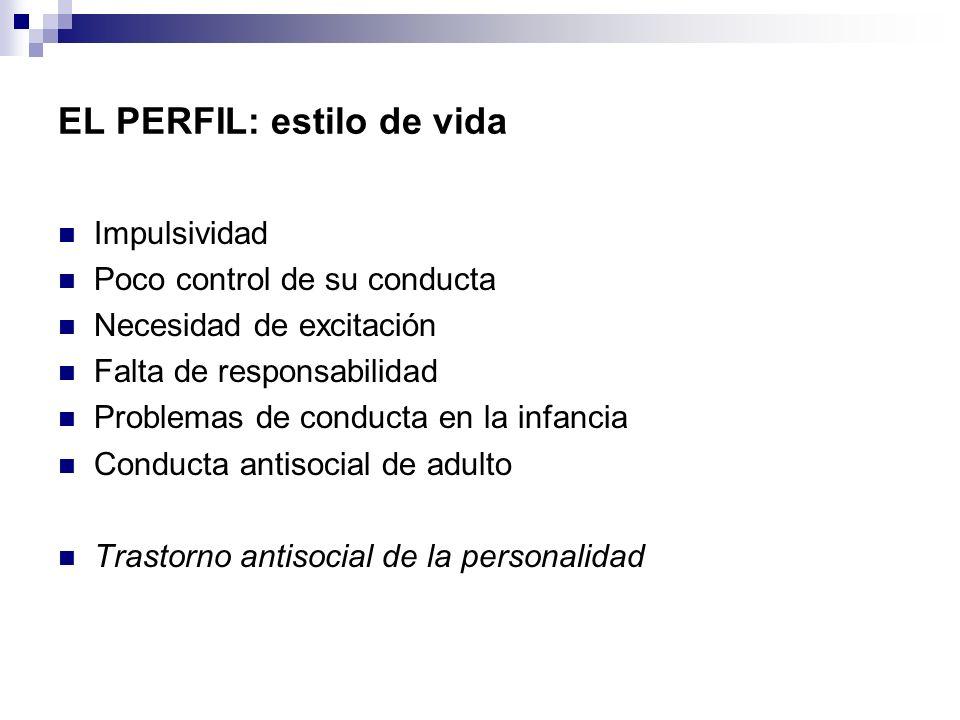 PCL de HARE Factor I: personalidad narcisista - Faceta 1: relaciones interpersonales (superficial, grandiosidad, mentiroso, manipulador).