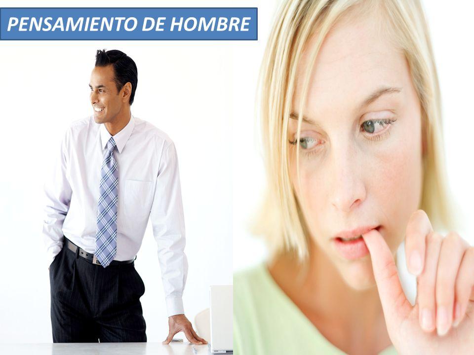 PENSAMIENTO DE HOMBRE