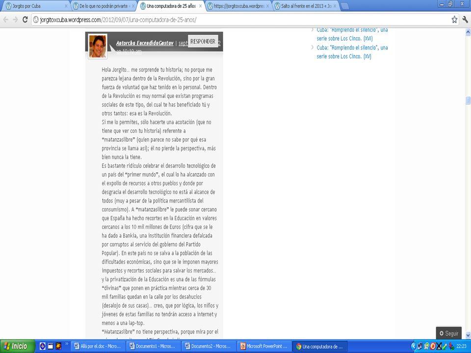 Más sobre Jorgito por Cuba Tiene como línea editorial mostrar a los Cinco como hombres.