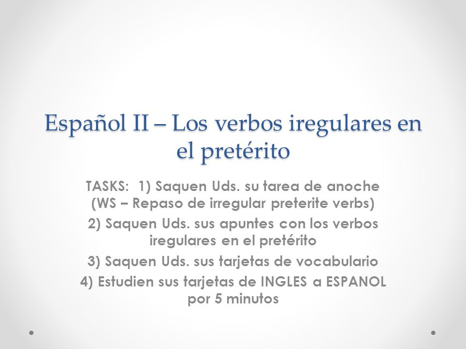 REPASO – 5/2 – Hace + time + que expressions (Present tense) P: ¿Cuánto .