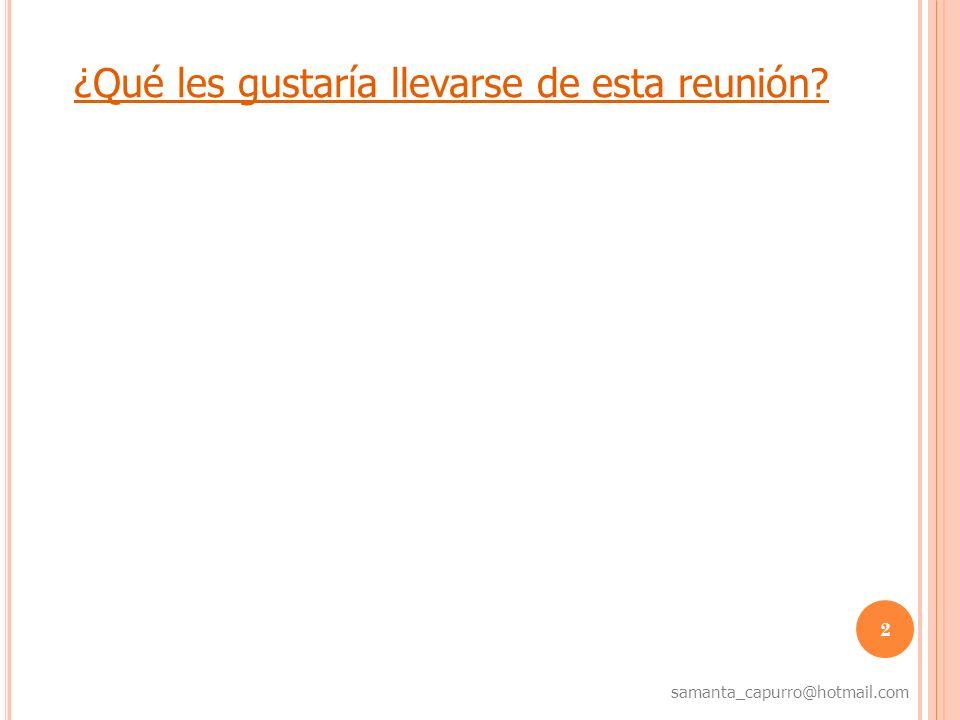 3 samanta_capurro@hotmail.com Hoja de ruta 1.Baby boomers, Generación X, Generación Y., Generación Z.