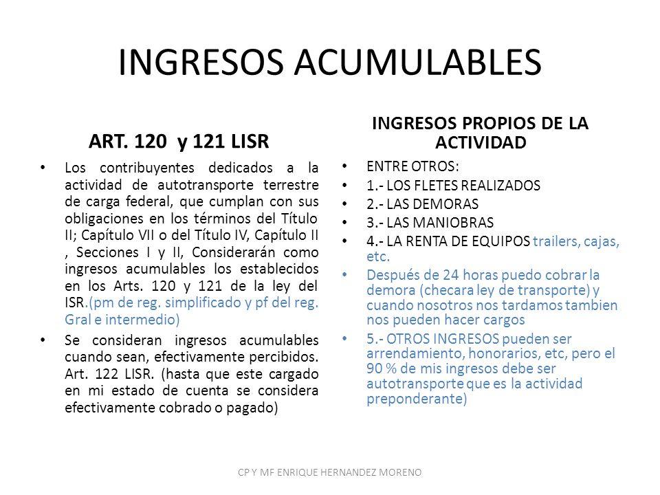 ARTICULOS DE LA LIETU Artículo 6.