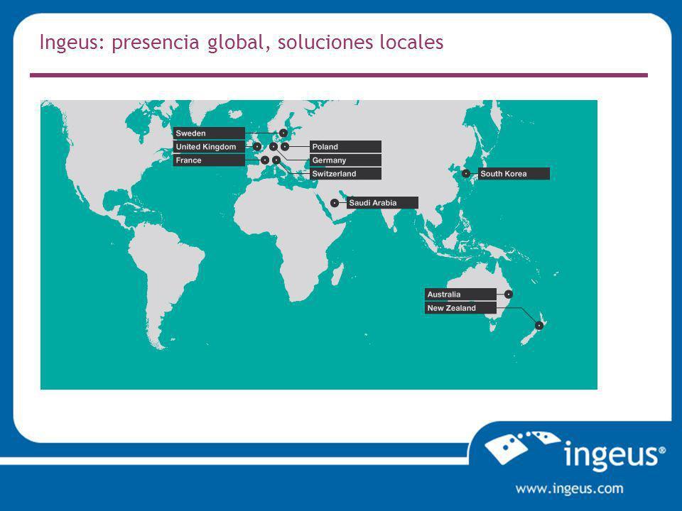 Ingeus: presencia global, soluciones locales