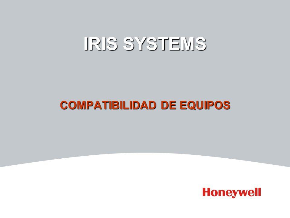 IRIS SYSTEMS COMPATIBILIDAD DE EQUIPOS