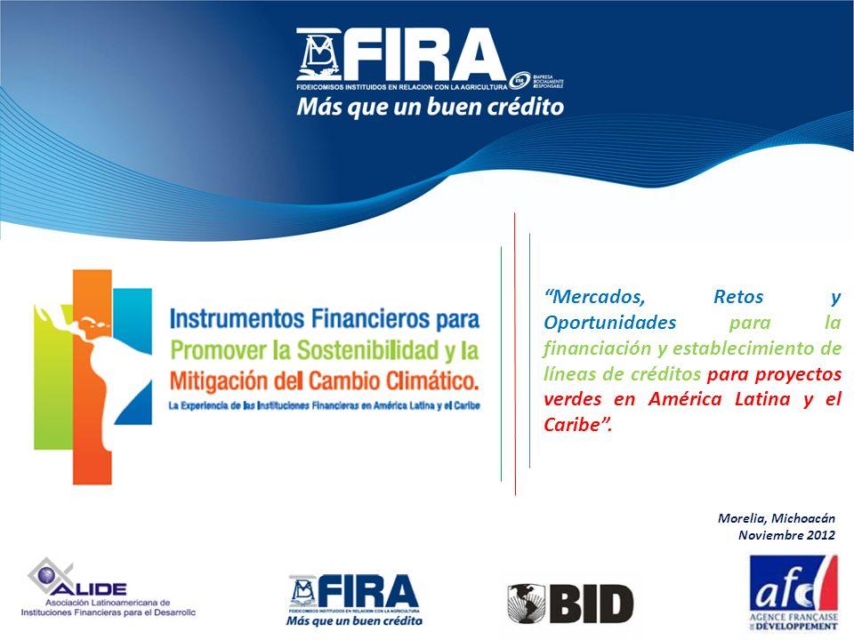 Mercados, Retos y Oportunidades para la financiación y establecimiento de líneas de créditos para proyectos verdes en América Latina y el Caribe. More