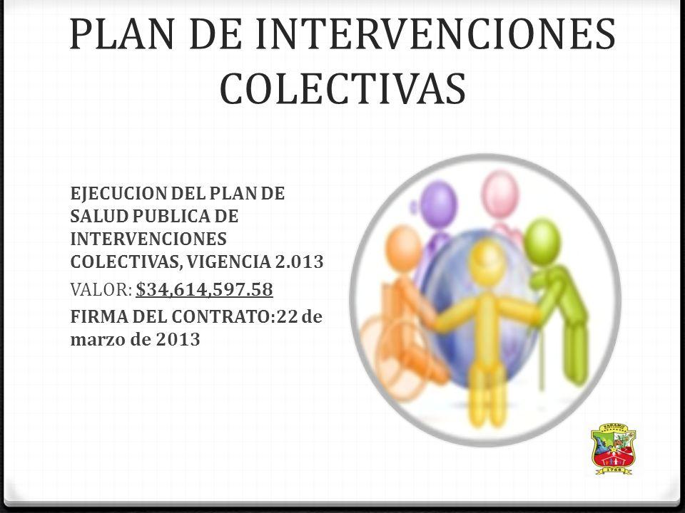 Salud publica 3-SALUD PUBLICA DECRETO 3039 DE 2007: PLAN NACIONAL DE SALUD PUBLICA, OBLIGATORIO CUMPLIMIENTO. RESOLUCION 425 DE 2008 PIC