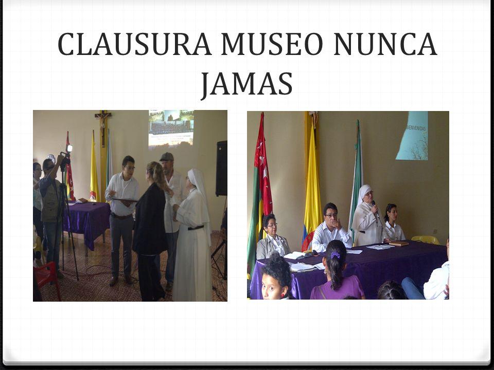 SALUD MENTAL $13.800.000 MUSEO NUNCA JAMAS