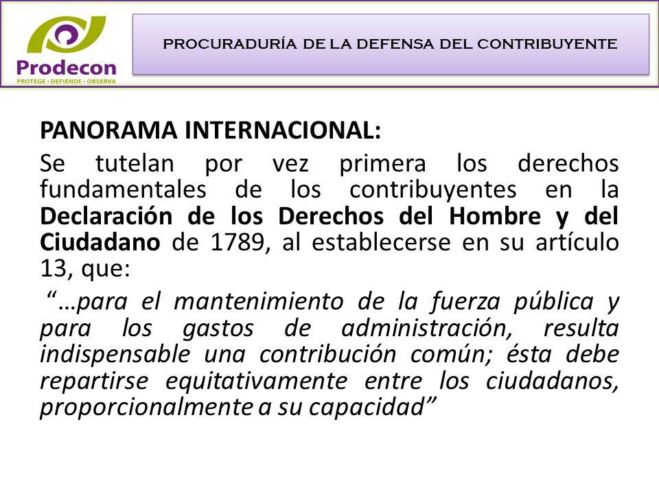 TRASCENDENCIA DE LA DECLARACIÓN DE LOS DERECHOS DEL HOMBRE (1789) Incorpora el principio de generalidad al postular la obligación de todos los integrantes de la sociedad a pagar impuestos.