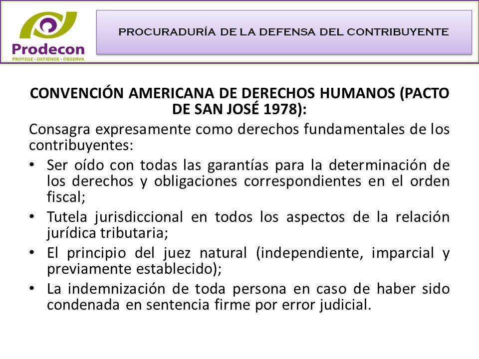 MÉXICO 2005: se publica la Ley Federal de los Derechos del Contribuyente, que hace énfasis en los de carácter procedimental, tales como: Ser informado de sus derechos al inicio de cualquier actuación de las autoridades.