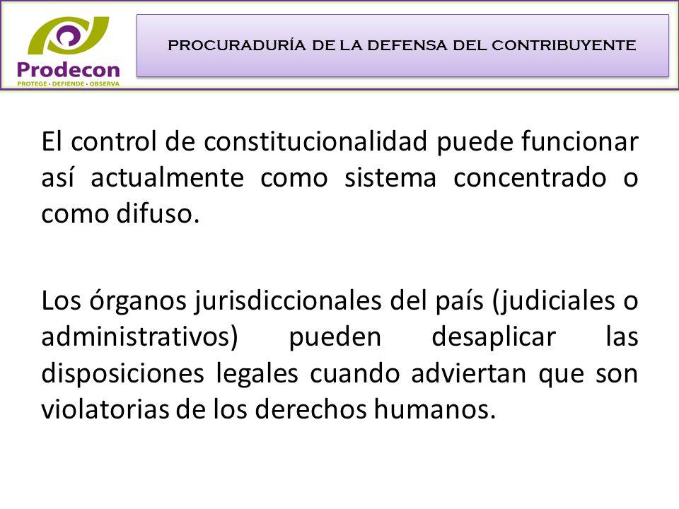 LA PROTECCIÓN NO JURISDICCIONAL DE LOS DERECHOS FUNDAMENTALES DE LOS CONTRIBUYENTES.