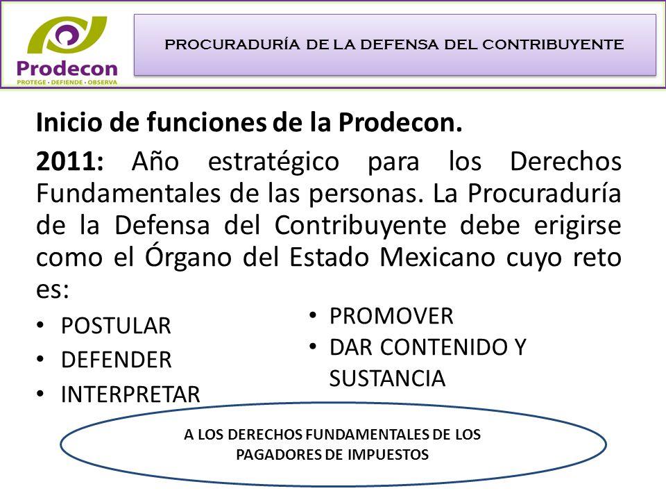 Licenciada Diana Rosalía Bernal Ladrón de Guevara Procuradora de la Defensa del Contribuyente Página web: www.prodecon.gob.mx E-mail: contacto@prodecon.gob.mx Teléfonos: 26363660, 26363661 y 26363662