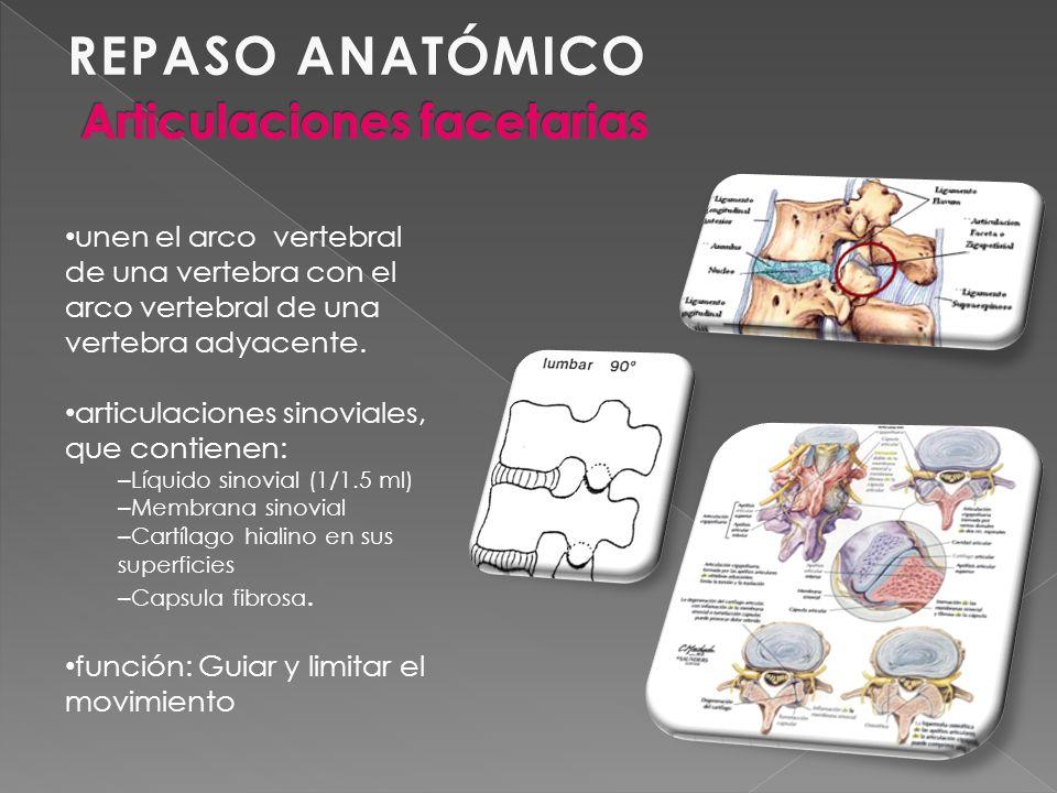 ANAMNESIS REMOTA Episodios ocasionales de cuadros de dolor lumbar (aprox.