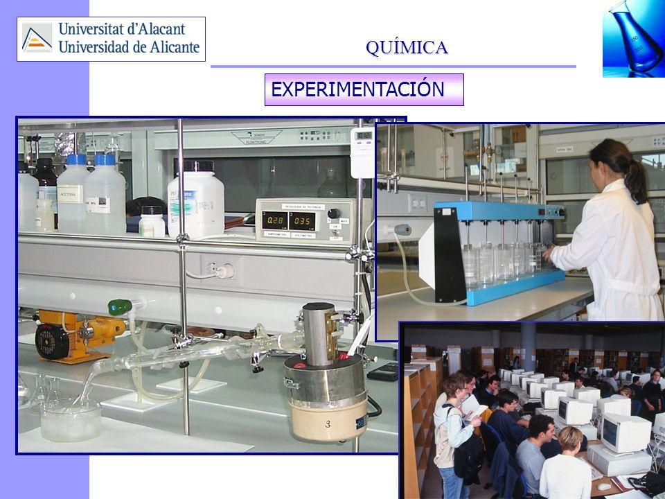 QUÍMICA 5 EXPERIMENTACIÓN