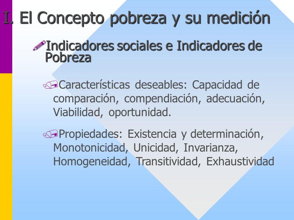 /Características deseables: Capacidad de comparación, compendiación, adecuación, Viabilidad, oportunidad. /Propiedades: Existencia y determinación, Mo