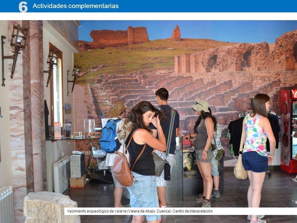 Actividades complementarias 6 Yacimiento arqueológico de Valeria (Valera de Abajo, Cuenca). Centro de Interpretación