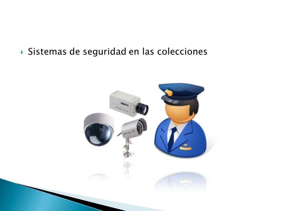 Sistemas de seguridad en las colecciones