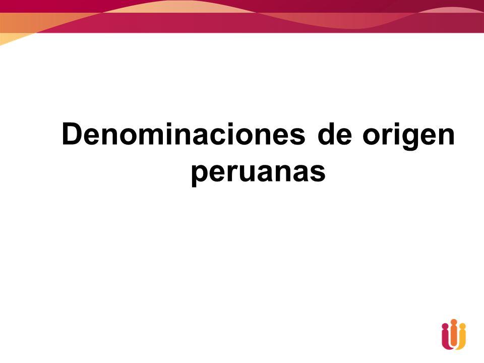 Denominaciones de origen peruanas