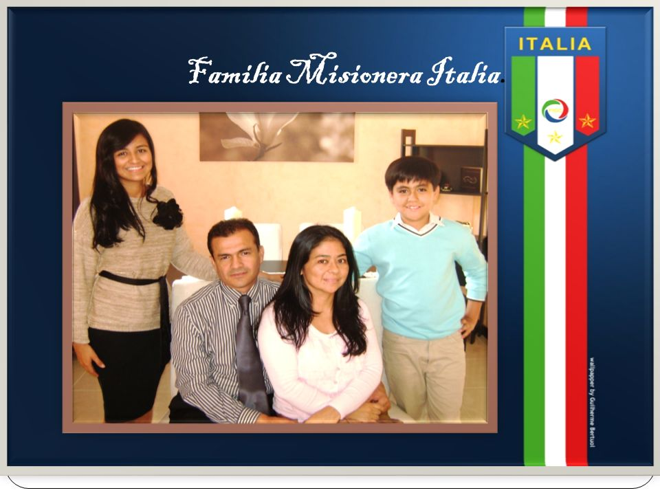 Familia Misionera Italia.