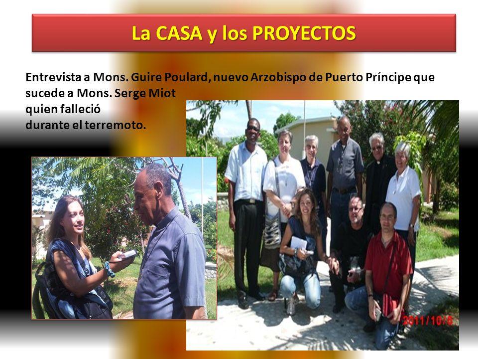 Entrevista a Mons. Guire Poulard, nuevo Arzobispo de Puerto Príncipe que sucede a Mons. Serge Miot quien falleció durante el terremoto.