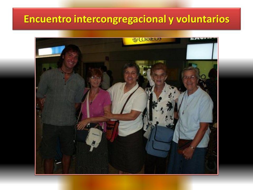 Encuentro intercongregacional y voluntarios