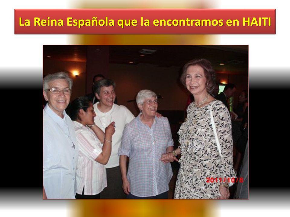 Un viaje a un lugar POR DEBAJO DE LA POBREZA Recepción con la Reina y encuentro con otros españoles.