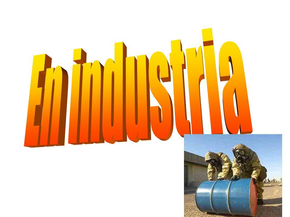 Aplicaciones en industria En la industria, la radiación gamma se usa para la detección de defectos en fundición y fundidura.