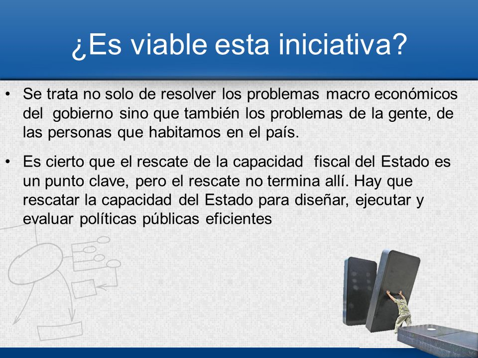 ¿Qué reformas habría que introducir en el ámbito de la institucionalidad pública y en los órganos representativos del Estado.
