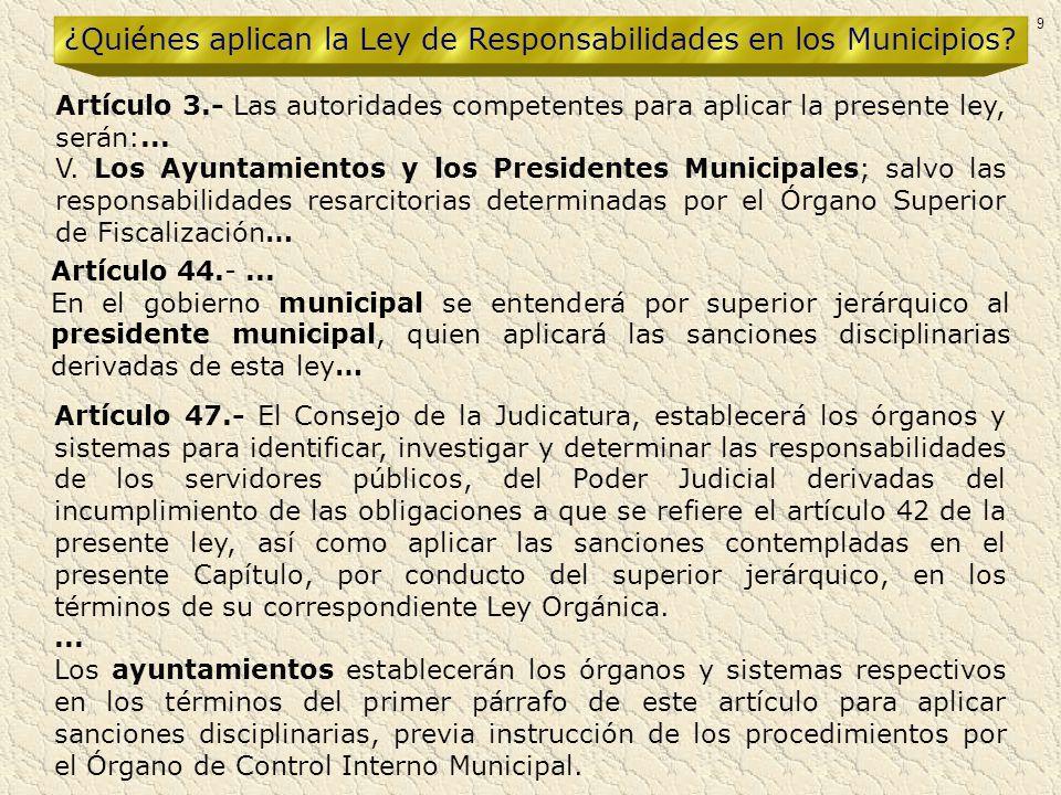 Artículo 47.- El Consejo de la Judicatura, establecerá los órganos y sistemas para identificar, investigar y determinar las responsabilidades de los s