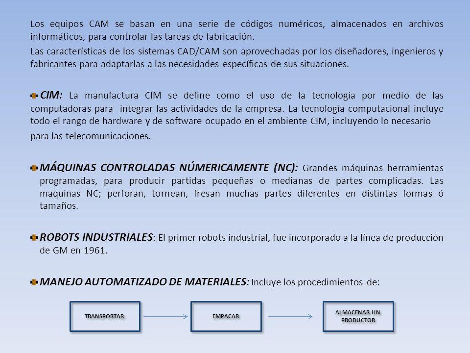 HERRAMIENTAS PARA EL DISEÑO Y MANUFACTURA ASISTIDO POR COMPUTADORA Entre las herramientas para el diseño y manufactura por computadora se encuentra: CAD/CAM proceso en el cual se utilizan los ordenadores o computadoras para mejorar la fabricación, desarrollo y diseño de los productos.