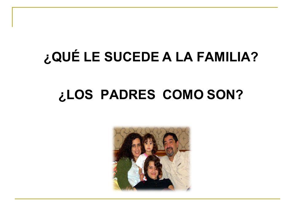 TALLER Nº 1. La Educación en La Familia.