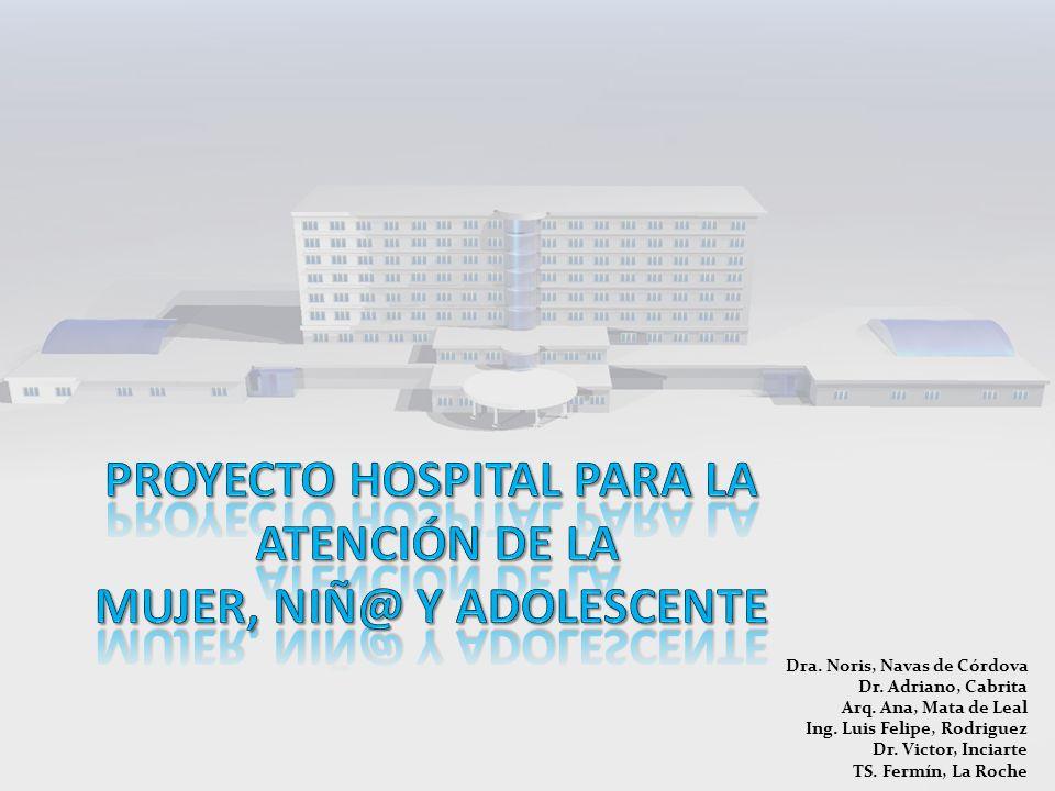 Dra.Noris, Navas de Córdova Dr. Adriano, Cabrita Arq.