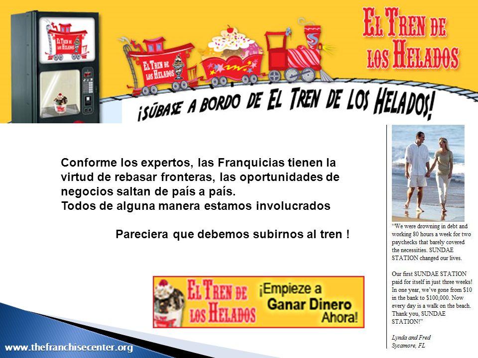 Diferencia de la franquicia con otras formas contractuales www.thefranchisecenter.org