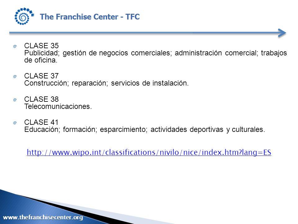 CLASE 35 Publicidad; gestión de negocios comerciales; administración comercial; trabajos de oficina. CLASE 37 Construcción; reparación; servicios de i