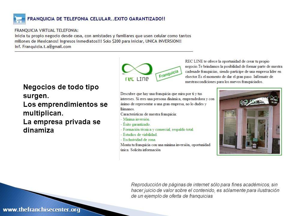 www.thefranchisecenter.org Elementos Integrantes de la Relación de Franquicias Normas de la Franquicia y A.T.