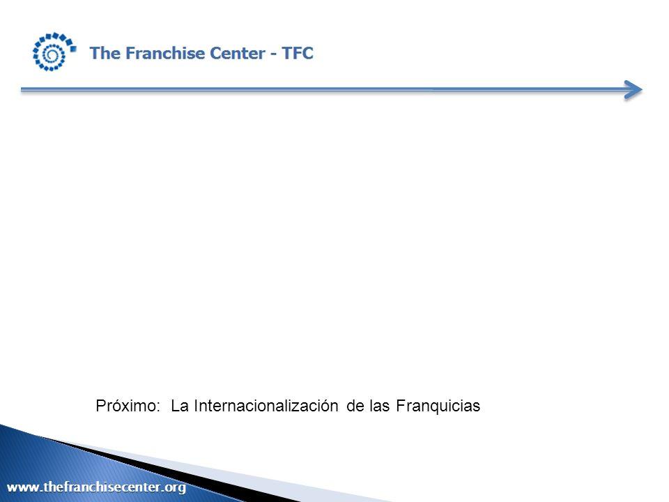 Próximo: La Internacionalización de las Franquicias