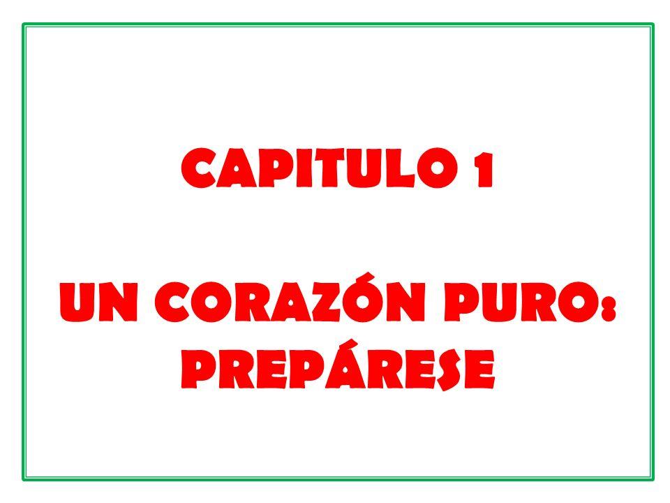 CAPITULO 1 UN CORAZÓN PURO: PREPÁRESE