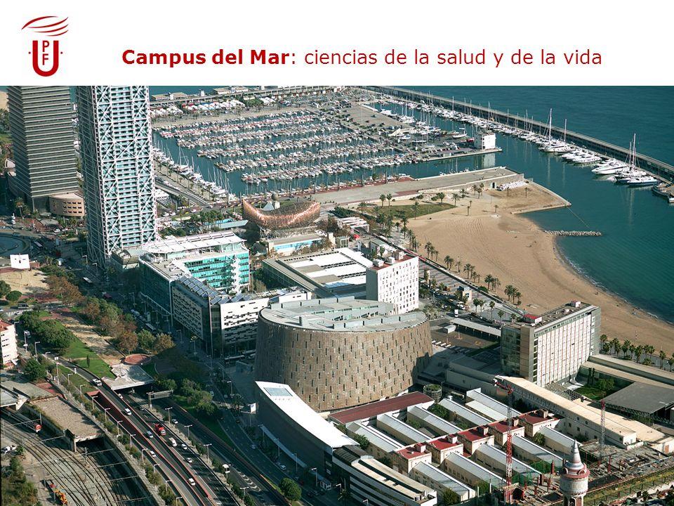 Campus del Mar: biomedicina Campus del Mar: ciencias de la salud y de la vida