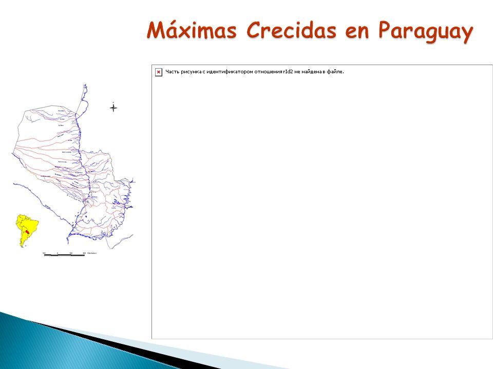 Máximas Crecidas en Paraguay