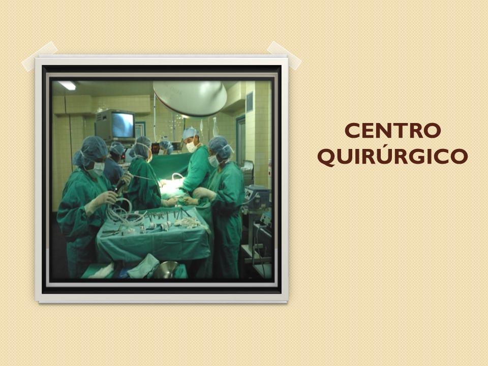 DESCRIPCIÓN El Centro Quirúrgico es el conjunto de ambientes, cuya función gira alrededor de las salas de operaciones y que proporciona al equipo quirúrgico las facilidades necesarias para efectuar procedimientos quirúrgicos en forma eficaz, eficiente y en condiciones de máxima seguridad.