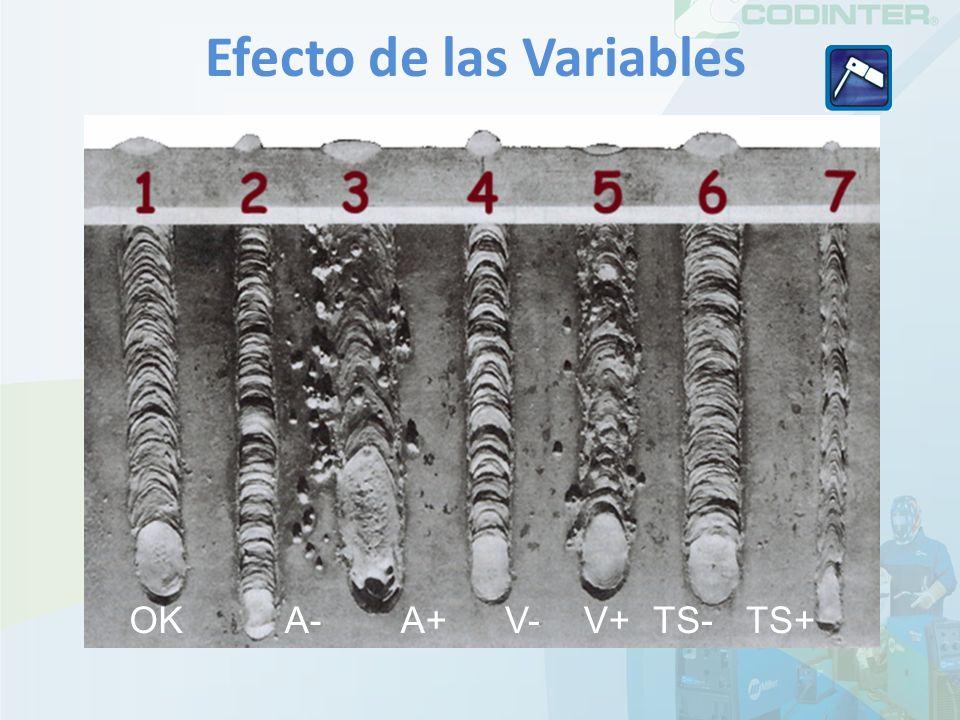 OKA-A+V-TS+V+TS- Efecto de las Variables