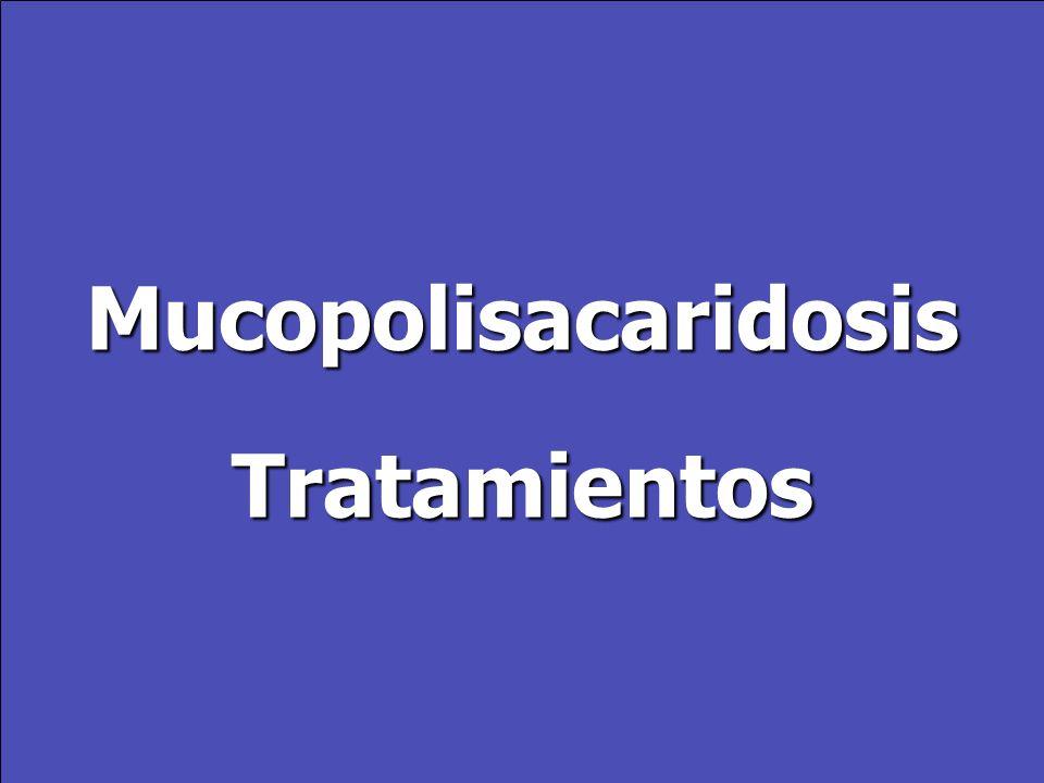 MucopolisacaridosisTratamientos