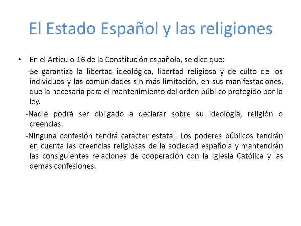 Catolicismo España es un país de tradición religiosa católica.