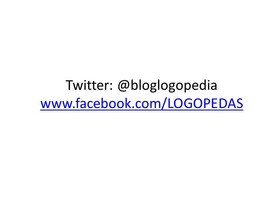 BLOG LOGOPEDIA Y EDUCACIÓN Mª Dolores Marqués Avilés LOGOPEDA logopediacentro@hotmail.com logopediacentro@hotmail.com